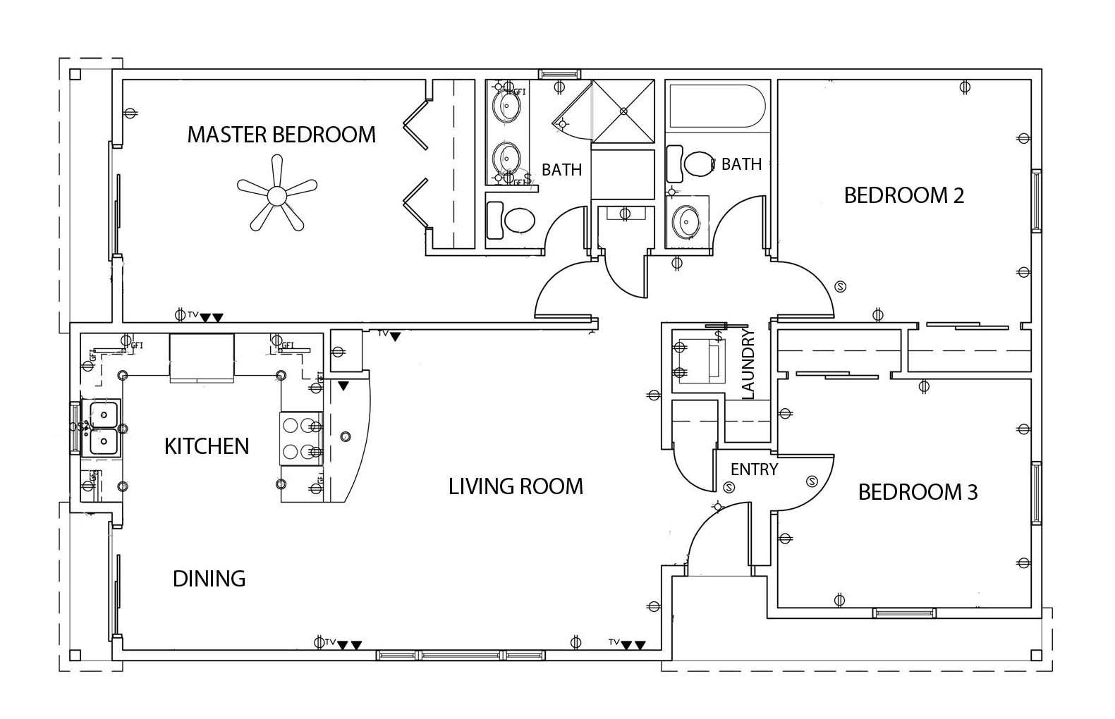 1200 Sq Ft. House Plans with Garage